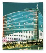 Jumeirah Beach Hotel Fleece Blanket
