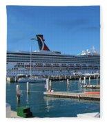 Jump Aboard Fleece Blanket
