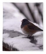 Junco Fleece Blanket