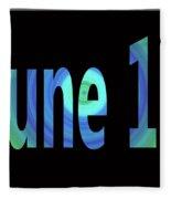 June 13 Fleece Blanket