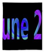 June 20 Fleece Blanket