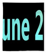 June 26 Fleece Blanket