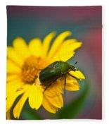 June Beetle Fleece Blanket