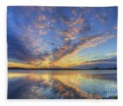 June Morning Fleece Blanket