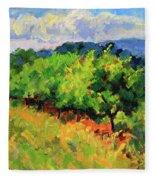 June Orchard Fleece Blanket