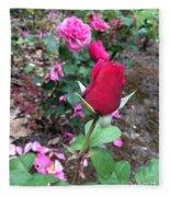 June Rose #2 Fleece Blanket