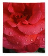 June  Rose  Fleece Blanket