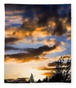 June Sunset Fleece Blanket