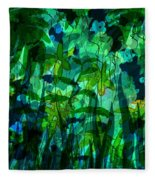 Jungle Colors Fleece Blanket