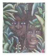 Jungle Depths Fleece Blanket