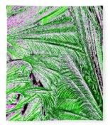 Jungle Flora Fleece Blanket