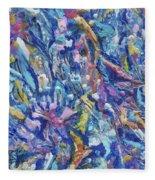 Jungle Garden Fleece Blanket
