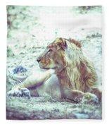 Jungle King Fleece Blanket