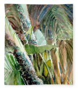 Jungle Light Fleece Blanket