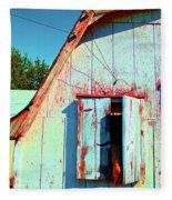 Junior's Barn Window Fleece Blanket