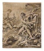 Juno Asking Aeolus To Release The Winds Fleece Blanket