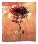 Jupiter Rising Fleece Blanket