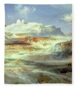 Jupiter Terrace Fleece Blanket