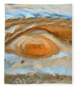Jupiterian Storm Of The Century Fleece Blanket
