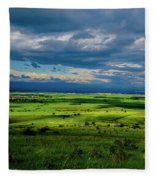 Just A Few Miles Away Fleece Blanket