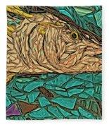 Just A Fish Fleece Blanket