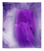 Just A Lilac Dream -2- Fleece Blanket