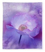 Just A Lilac Dream -3- Fleece Blanket