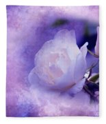 Just A Lilac Dream -4- Fleece Blanket