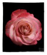 Just A Rose Fleece Blanket