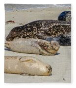Just Another Day At The Beach Fleece Blanket