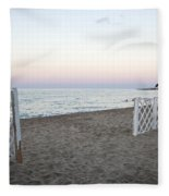 Just Before Sunset  Fleece Blanket
