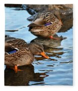 Just Ducky Fleece Blanket