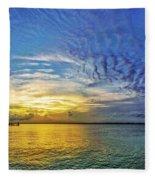 Just Fishin Fleece Blanket