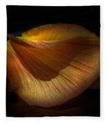 Just Flower Fleece Blanket