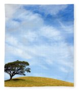 Just One Tree Hill Fleece Blanket