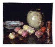 Just Onions, 1912 Fleece Blanket