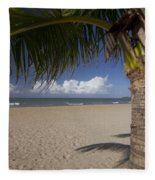 Just You And The Beach Fleece Blanket