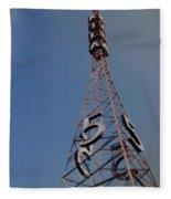 K T L A Channel 5 Fleece Blanket