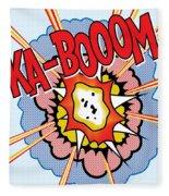 Ka-booom Fleece Blanket