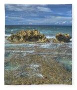 Kaena Point  7898 Fleece Blanket