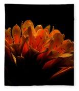 Kaffir Lily Fleece Blanket