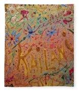 Kailani's Sweet Sixteen Fleece Blanket