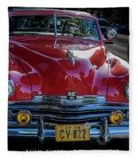 Kaiser Virginian Deluxe - 1949 Convertible Fleece Blanket
