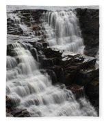 Kakabeka Falls Three Fleece Blanket
