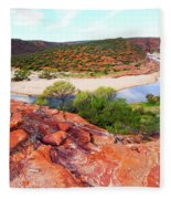 Kalbarri National Park 2am-29388 Fleece Blanket