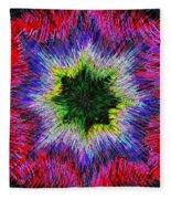 Kaleidomicro Fleece Blanket