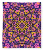 Kaleidoscope 1004 Fleece Blanket