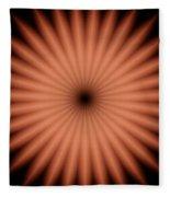 Kaleidoscope 3 Fleece Blanket