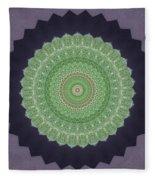 Kaleidoscope 4 Fleece Blanket