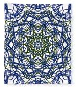 Kaleidoscope 706 Fleece Blanket